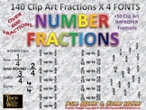 Fraction Clip Art - 600 +