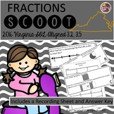 FRACTION SCOOT Grade 3 Virginia SOL 3.2, 3.5