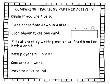 Comparing Fraction Models