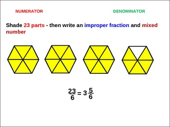 4th Fractions: Impropers, Mixed Numbers, and Order Fractions