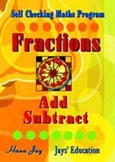 FRACTIONS Add and Subtract | Self Checking
