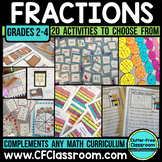 Fraction BUNDLE | Fractions on a Number Line | Comparing Fractions | Math Center