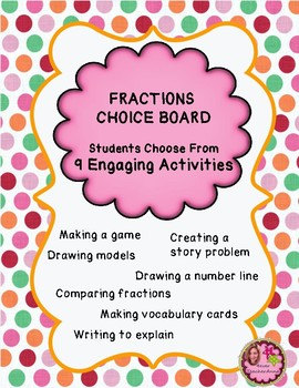 5th Grade FRACTIONS - EnVision Topic 9
