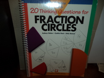 FRACTIONS CIRCLES  ISBN 1-56107-798-4