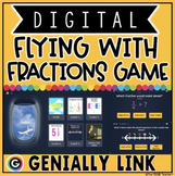 FRACTIONS DIGITAL GAME for 4TH & 5TH GRADE