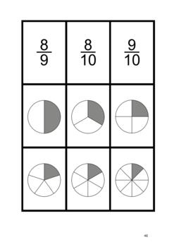 FRACTIONS DONKEY - 2 Card Games - Halves, Fifths, Thirds and their multiples