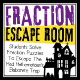 HALLOWEEN FRACTIONS ESCAPE ROOM