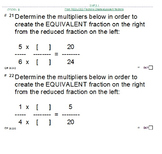 FRACTIONS, FRACTIONS, FRACTIONS