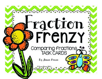 FRACTIONS FRENZY: TASK CARDS