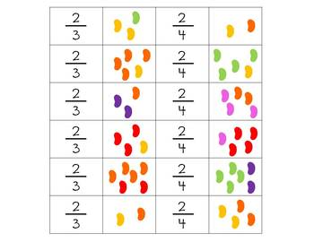 FRACTIONS - Fun with M&M's and Other Candies!