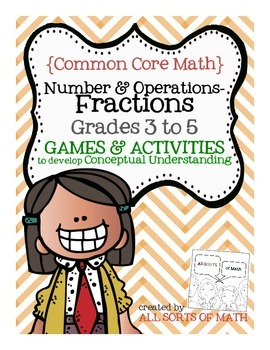 FRACTION GAMES (Grades 3 to 5)