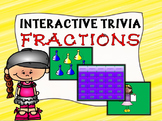Interactive Fractions Trivia Game