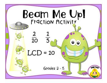 FRACTIONS Least Common Denominator