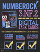 FRACTIONS ON A NUMBER LINE 3rd Grade ★ Google Classroom Math ★ Self-Grade 3.NF.2