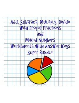 fractions practice  bundle  worksheets in one download  originaljpg