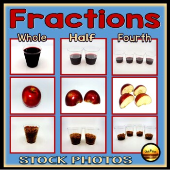Commercial Stock Photos: Visual Fraction Models