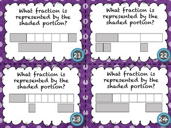 FRACTIONS TASK CARD MEGA BUNDLE (160+ CARDS)