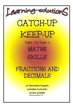 FRACTIONS and DECIMALS BUNDLE - Program/Task Cards/Answer Book/13 Games