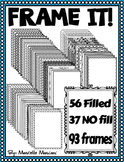 FRAME IT! FRAMES FOR COVER PAGES AND WORKSHEETS (93 IMAGES)
