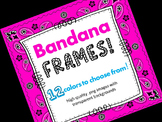 FRAMES - Bandana Pattern - Personal & Commercial use