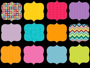 FRAMES - Funky Pattern Fills - Personal and Commercial use