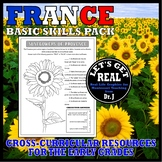 FRANCE (Basic Skills Activity Pack)