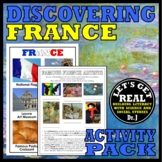 FRANCE: Discovering France Activity Pack