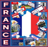 FRANCE & FRENCH LANGUAGE RESOURCES -MULTICULTURAL DIVERSITY TEACHING GEOGRAPHY F