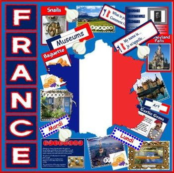 FRANCE & FRENCH LANGUAGE RESOURCES -MULTICULTURAL DIVERSIT