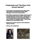 """FRANKENSTEIN & """"Rime of the Ancient Mariner"""" Chart"""