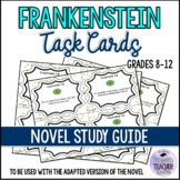 FRANKENSTEIN Discussion Task Cards