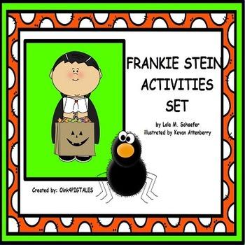 Frankie Stein Activities Task and Activities for ELA Halloween Theme