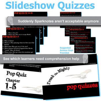 FREAK THE MIGHTY 5 Pop Quizzes Bundle