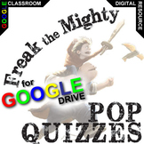 FREAK THE MIGHTY 5 Pop Quizzes (Created for Digital)