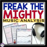 FREAK THE MIGHTY ACTIVITY: MUSIC LYRICS