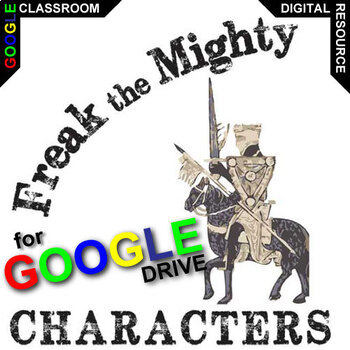 FREAK THE MIGHTY Characters Organizer (Created for Digital)