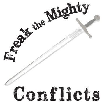 main conflict in freak the mighty