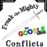 FREAK THE MIGHTY Conflict Graphic Organizer (Created for Digital)