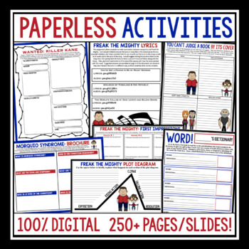 FREAK THE MIGHTY DIGITAL PAPERLESS UNIT FOR GOOGLE DRIVE / GOOGLE CLASSROOM