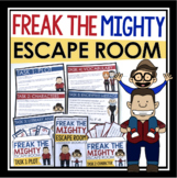 FREAK THE MIGHTY ESCAPE ROOM NOVEL ACTIVITY