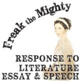 FREAK THE MIGHTY Essay Prompts & Grading Rubrics