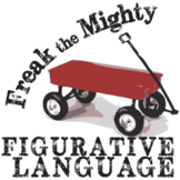 FREAK THE MIGHTY Figurative Language Analyzer (96 quotes)