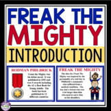 FREAK THE MIGHTY INTRODUCTION PRESENTATION