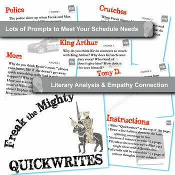 freak the mighty literature unit pdf