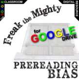 FREAK THE MIGHTY PreReading Bias Activity (Created for Digital)