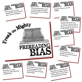 FREAK THE MIGHTY Prereading Bias
