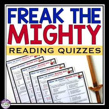 FREAK THE MIGHTY READING QUIZZES