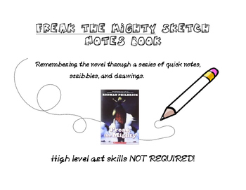 FREAK THE MIGHTY: Sketch Notes Packet