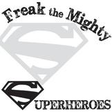 FREAK THE MIGHTY Superhero Activity