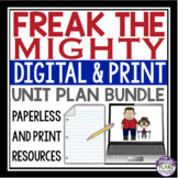 FREAK THE MIGHTY UNIT PLAN DIGITAL AND PRINT BUNDLE